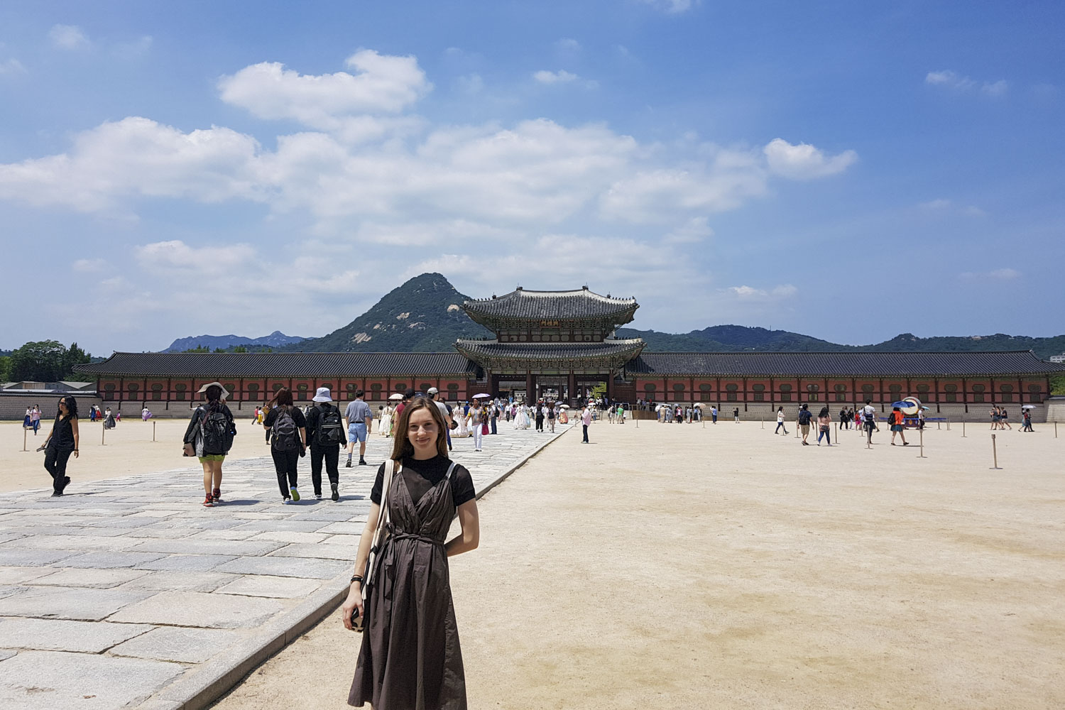 Olivia Grotenhuis took opportunities to travel in South Korea while studying the language.