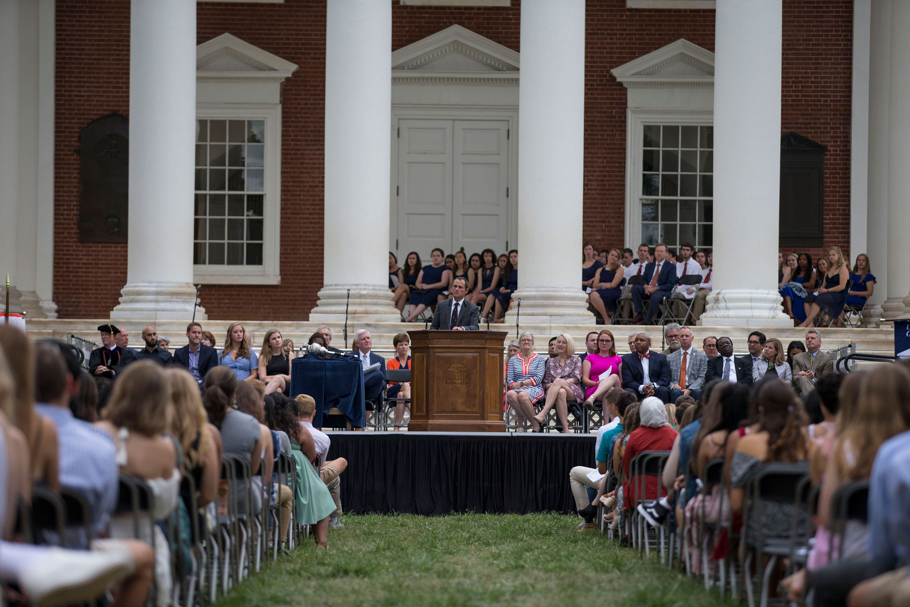 Ryan welcomed the Class of 2023 on Sunday evening.