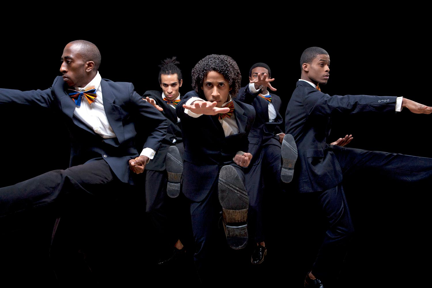 """In """"The Opulence of Integrity,"""" choreographer Christal Brown includes elements of boxing, hip-hop, martial arts, modern dance and theater to illuminate the life of Muhammed Ali. (Photo by Robert Mayer Riccardo Valentine)"""