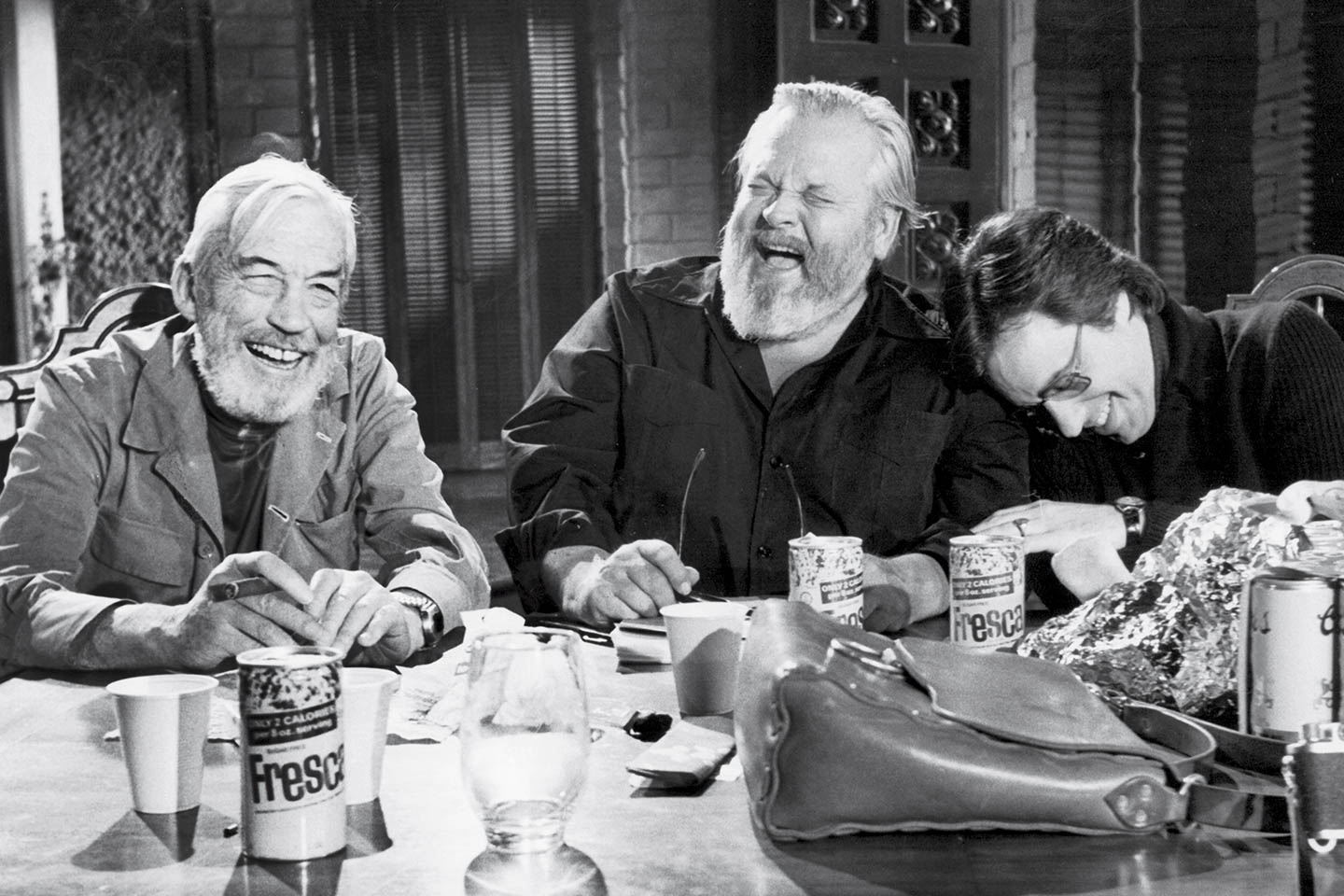 """A still from """"The Other Side of the Wind,"""" a long-awaited Orson Welles film."""