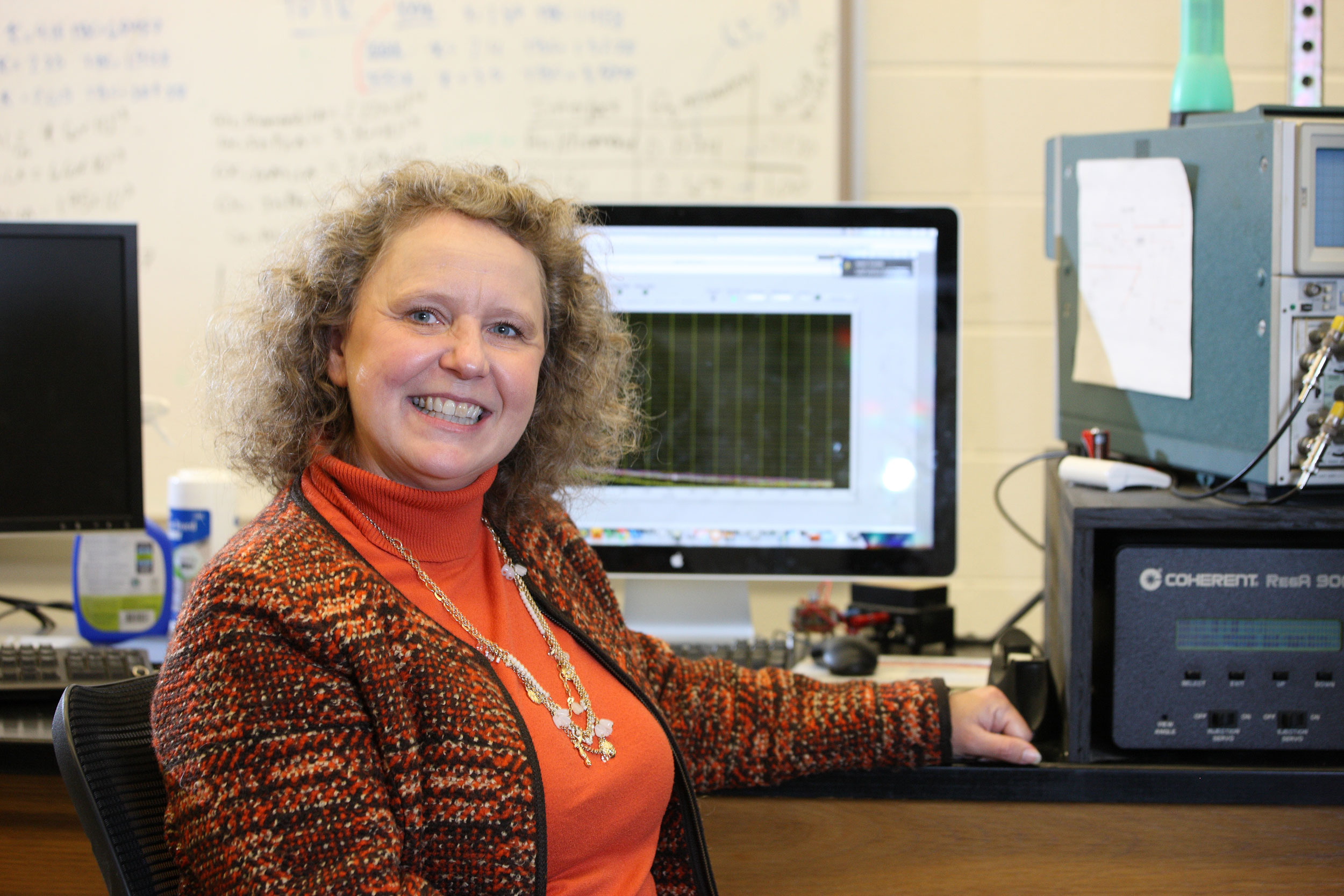Mechanical and Aerospace Engineering Professor Pamela Norris is also executive associate dean for research in the Engineering School.