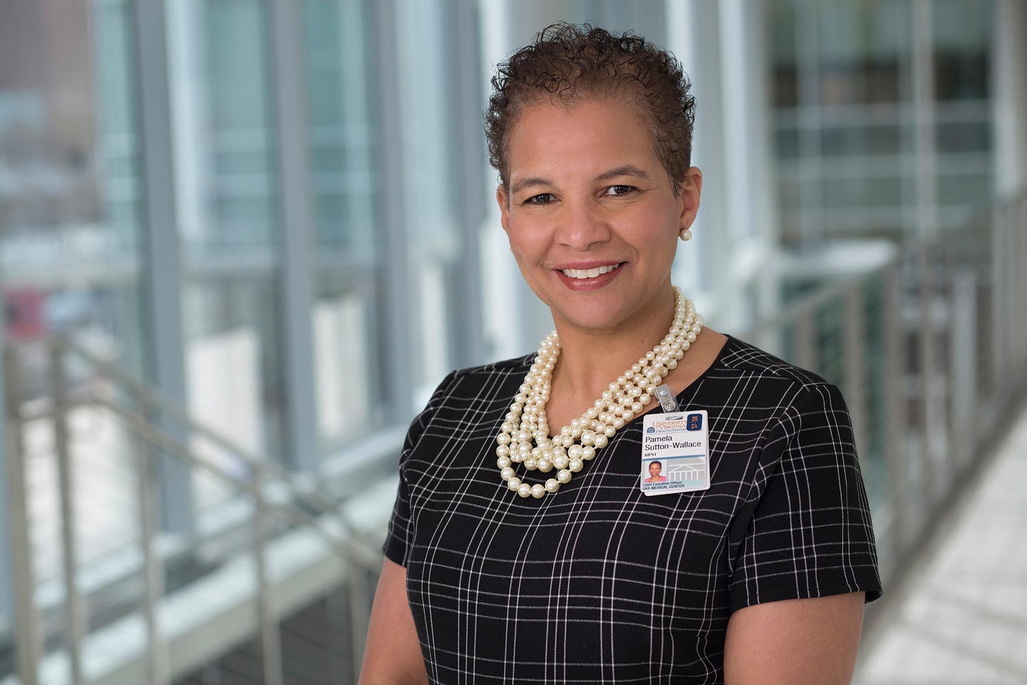 Pamela M. Sutton-Wallace, CEO of the UVA Medical Center, began serving as acting executive vice president for health affairs on May 1.