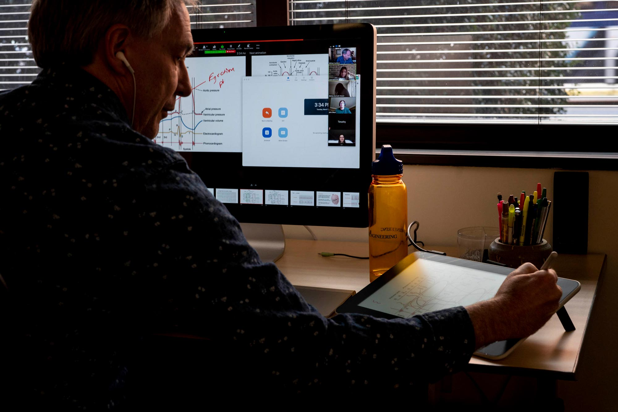 Guilford, assistant dean for undergraduate education at the School of Engineering, helped fellow faculty members prepare to shift classes online in a matter of days. Most online instruction began Thursday and continues through the end of the semester.