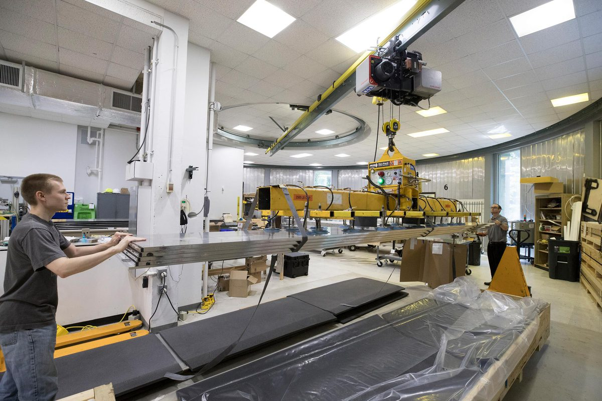 UVA's High-Energy Lab physicists are building large components for one of the largest physics experiments ever conducted in the U.S. The results may rival the discovery of the Higgs boson.