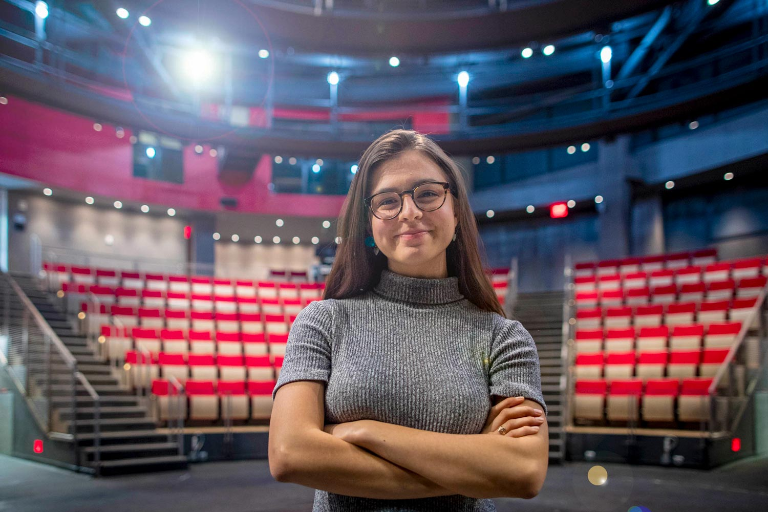 Payton Moledor plans to study acting and attend as many productions as she can while spending three months in London this fall.