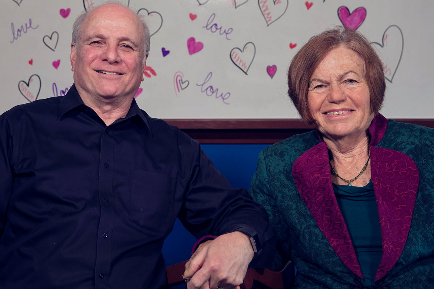 Psychologists (and marriage counselors Peter and Phyllis Sheras offered relationship advice Monday on UVA Today's Facebook Live.