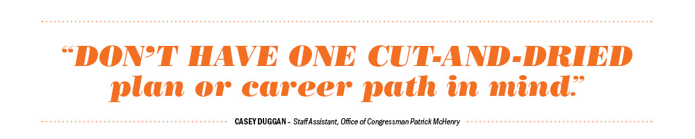 QUOTE: Don't have one cut-and-dried plan or career path in mind.