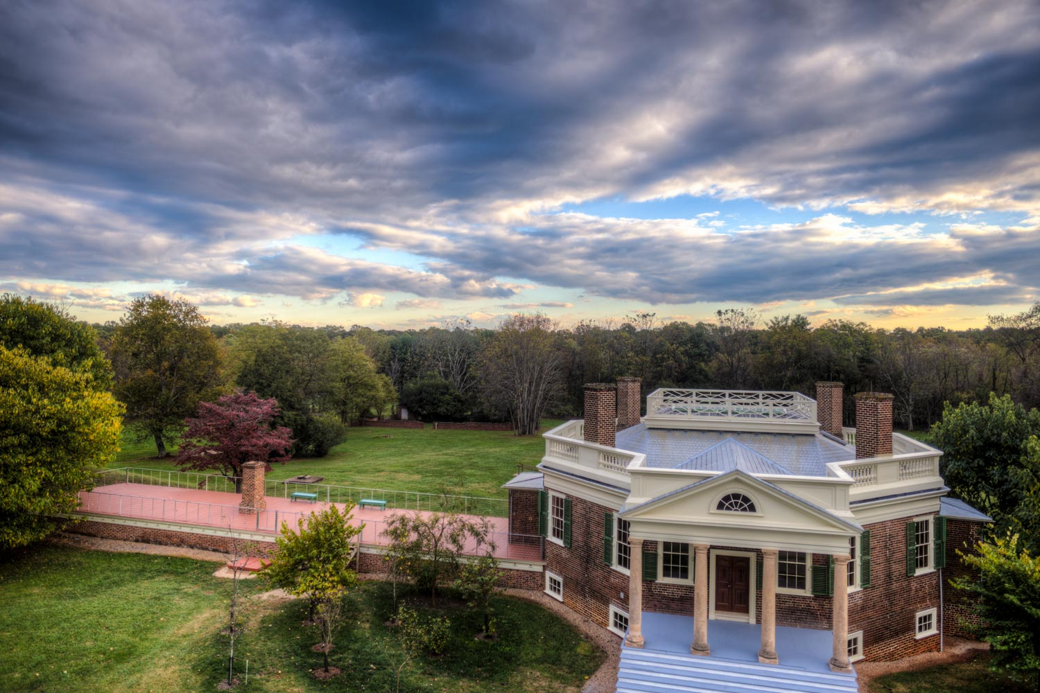 Jefferson designed Poplar Forest as a peaceful getaway from the bustle of his work at Monticello and in Washington.