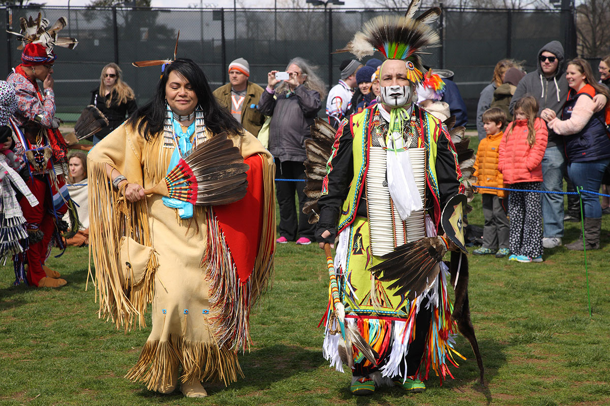 The fund supported UVA's inaugural Native American Pow Wow last year.