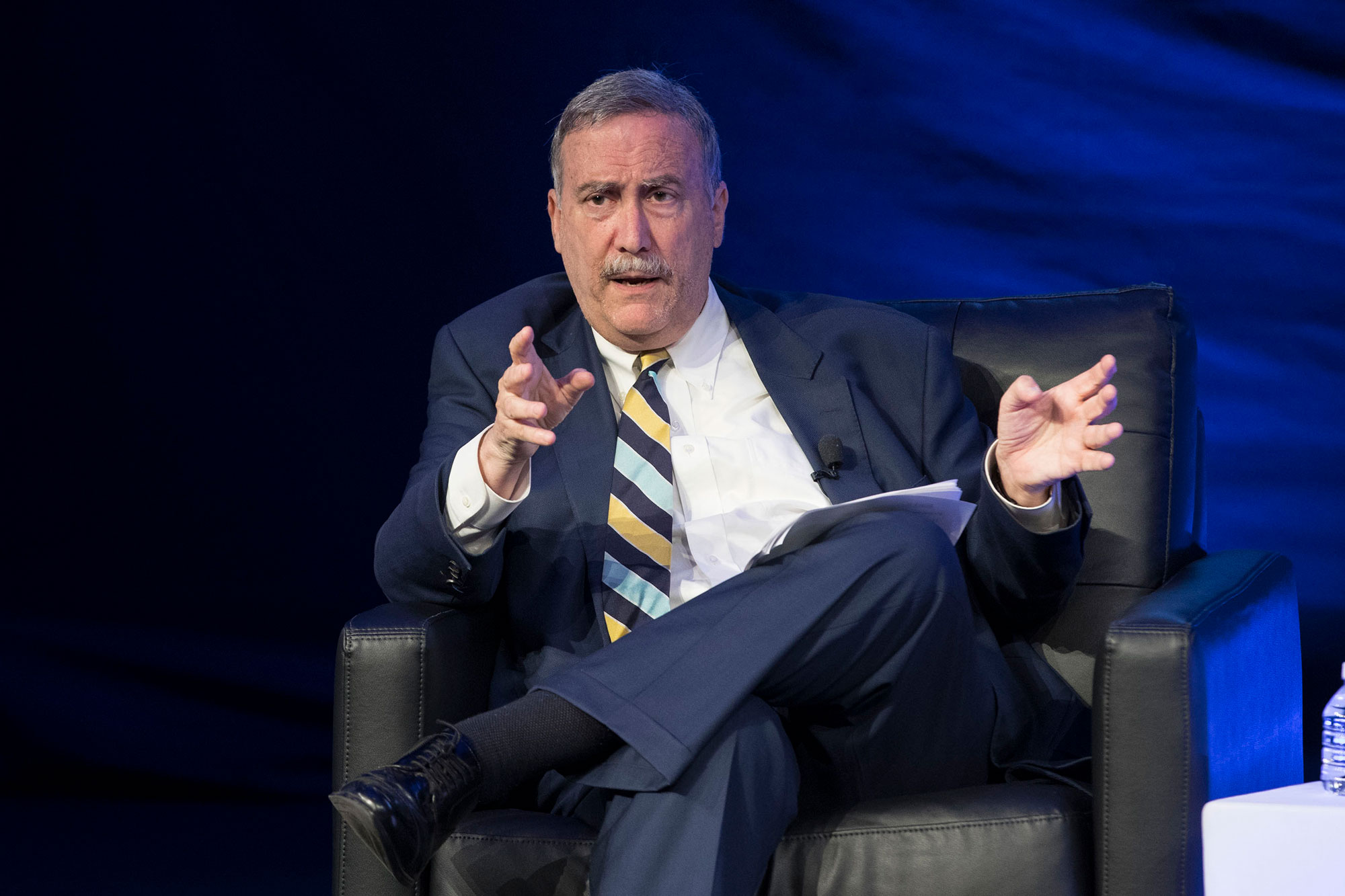 Larry Sabato's Crystal Ball website was declared among the most accurate in the nation by independent statistician Nicholas Cohen last year. (Photo by Dan Addison, University Communications)