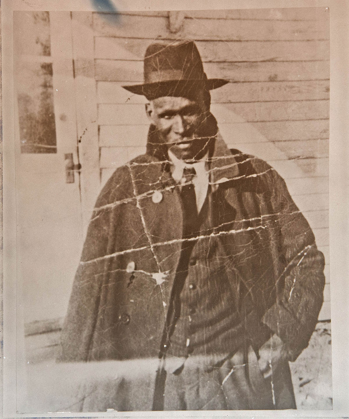 An undated photo of Ella's son and Rush's grandfather, James Neverson Rush. He was born in 1878.