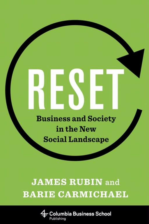 """""""Reset"""" was published at the beginning of January after several colleagues who came together to put the finishing touches on Rubin's draft."""