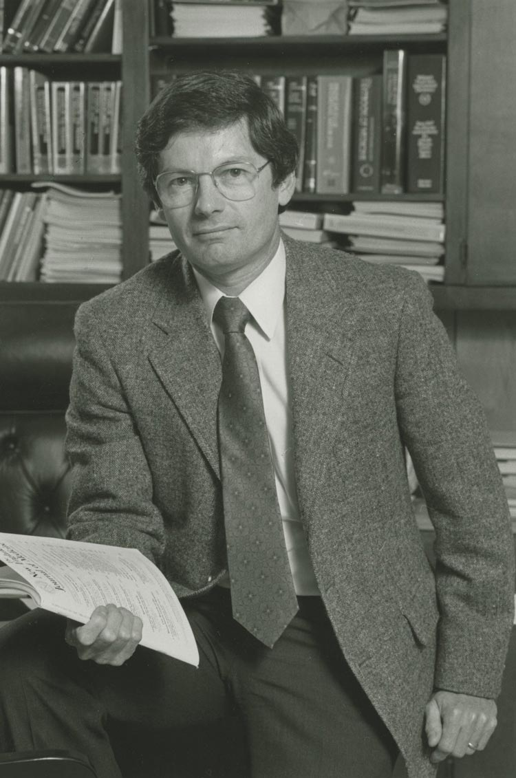 Dr. Robert Carey was the longest-serving dean in the University of Virginia School of Medicine's history, leading the medical school for 16 years, from 1986 to 2002.