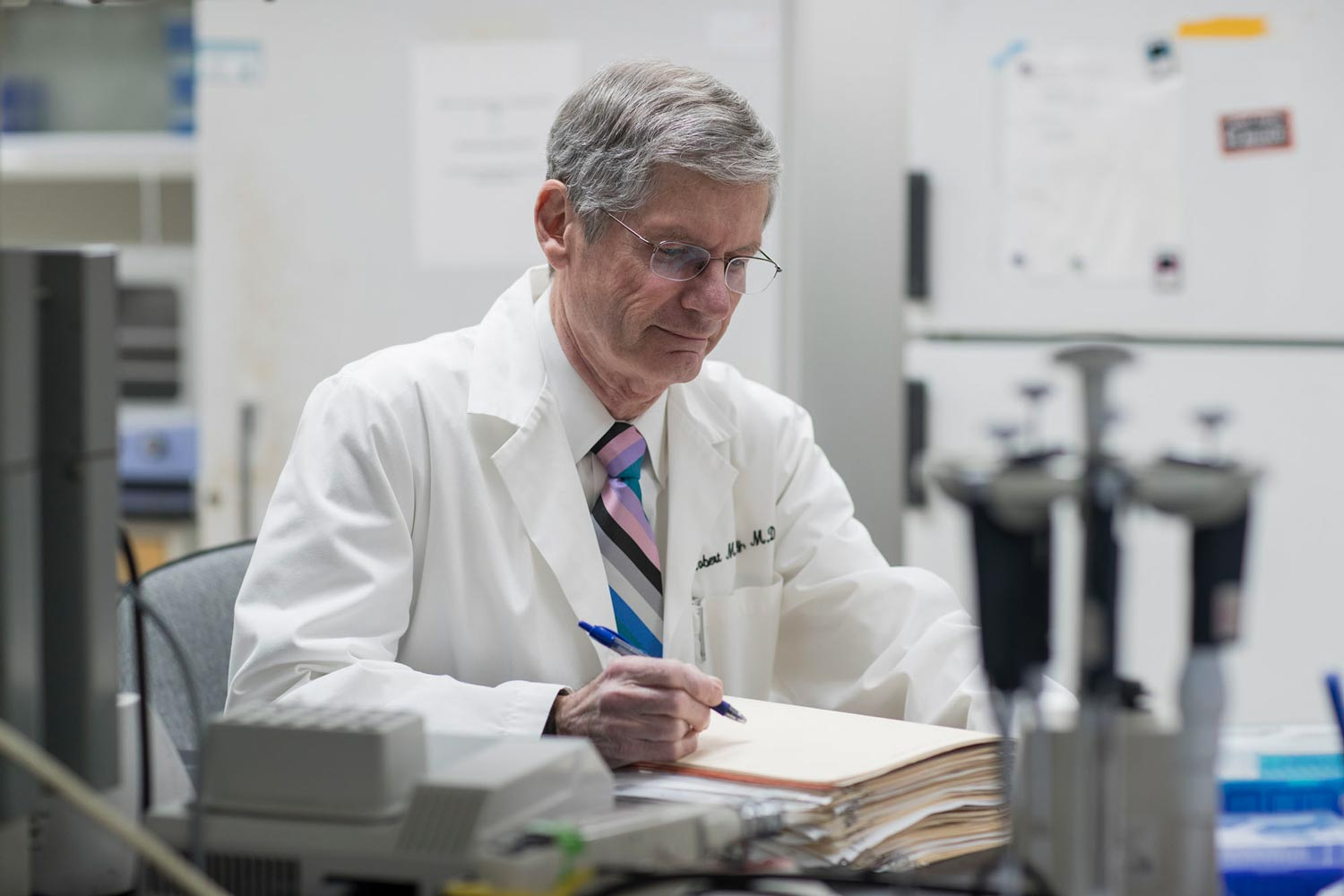 At 77, Dr. Robert Carey shows no signs of slowing down. After an unsuccessful attempt at retirement in 2015, Carey led a team of heart experts that issued sweeping new blood pressure guidelines last year.