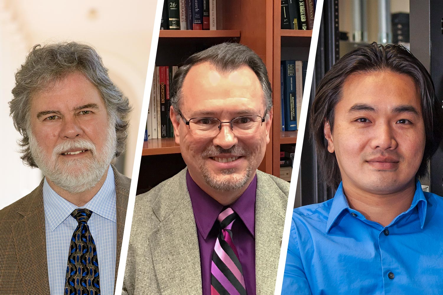 From left, Ron Hutchins, Scott Bevins and Tho Nguyen are heading up the ACCORD initiative that securely broadens researchers' access to protected data.