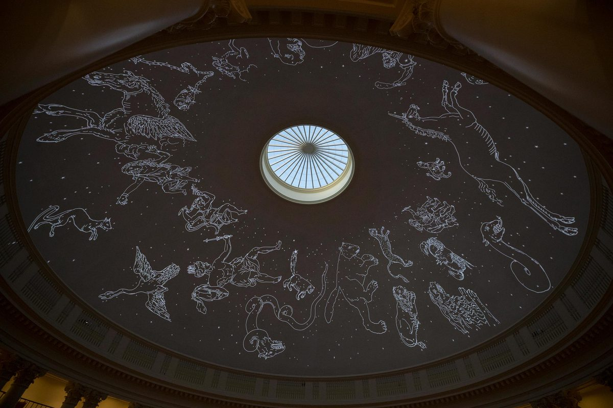 The Rotunda Planetarium will be open to the public, free of charge, from 6 to 10 p.m. on Nov. 30, Dec. 6, Dec. 19, Jan. 11 and Feb. 1.