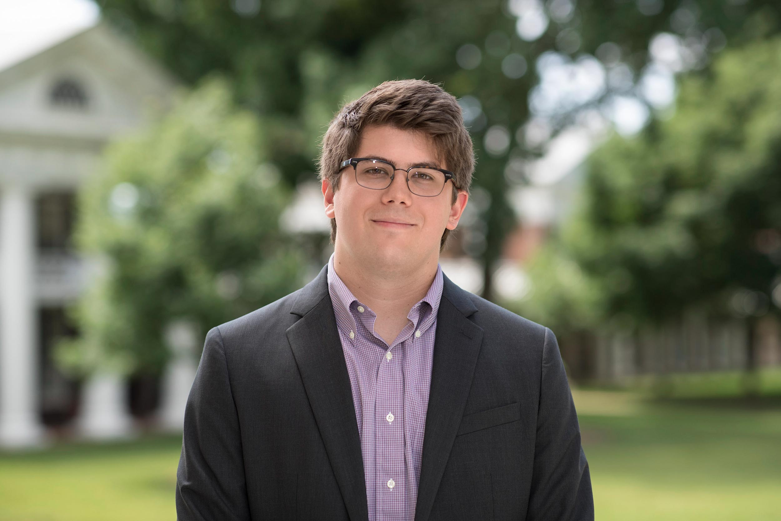 Sam Lesemann graduated with bachelor's degrees in history and psychology from the College of Arts & Sciences and is pursuing a Master of Public Policy degree at the Frank Batten School of Leadership and Public Policy.