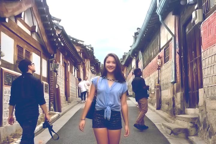 Samantha Merritt hopes to put her Korean language skills to work working in intelligence or diplomacy.