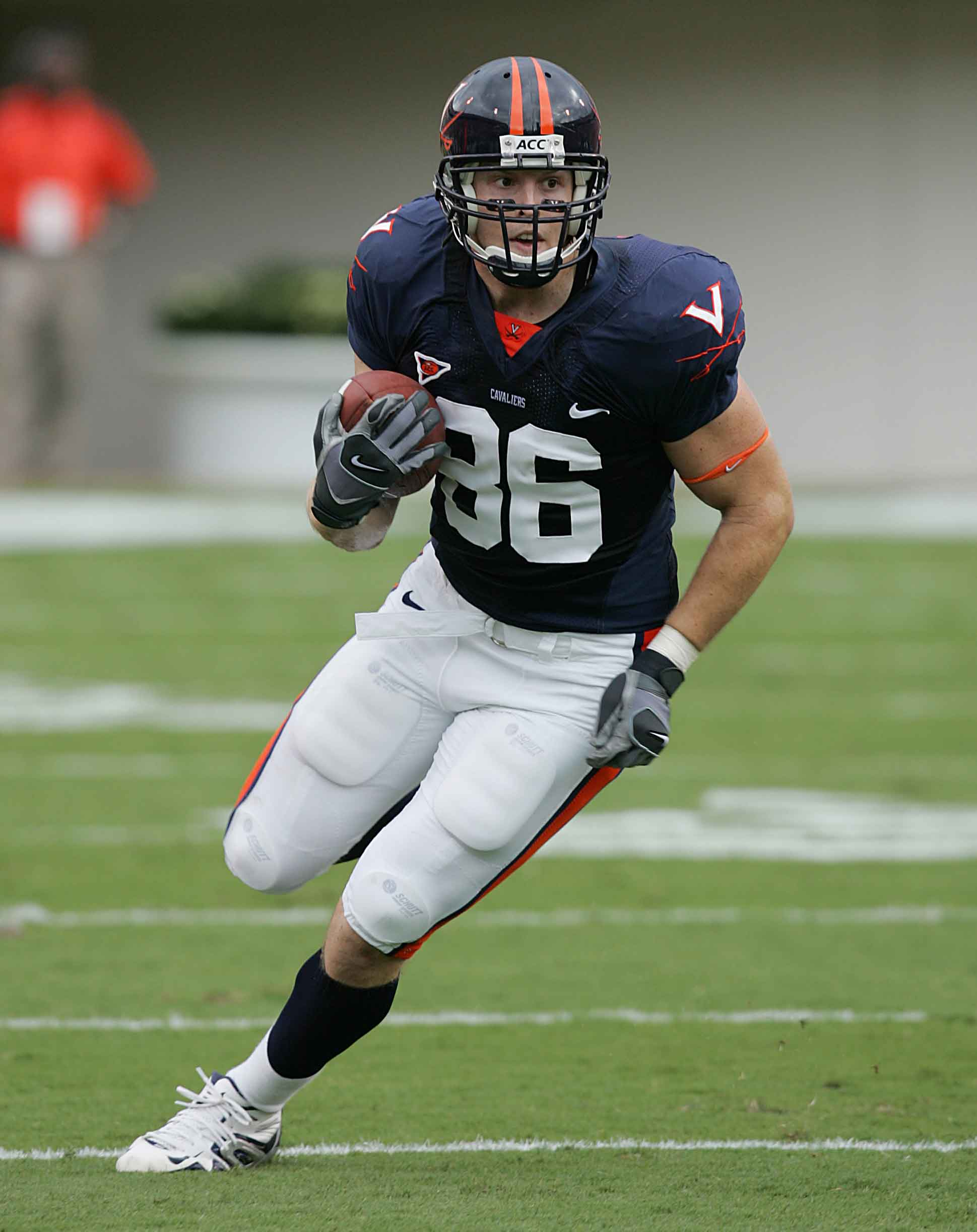 Tom Santi starred while at UVA, earning a spot with the NFL's Indianapolis Colts.