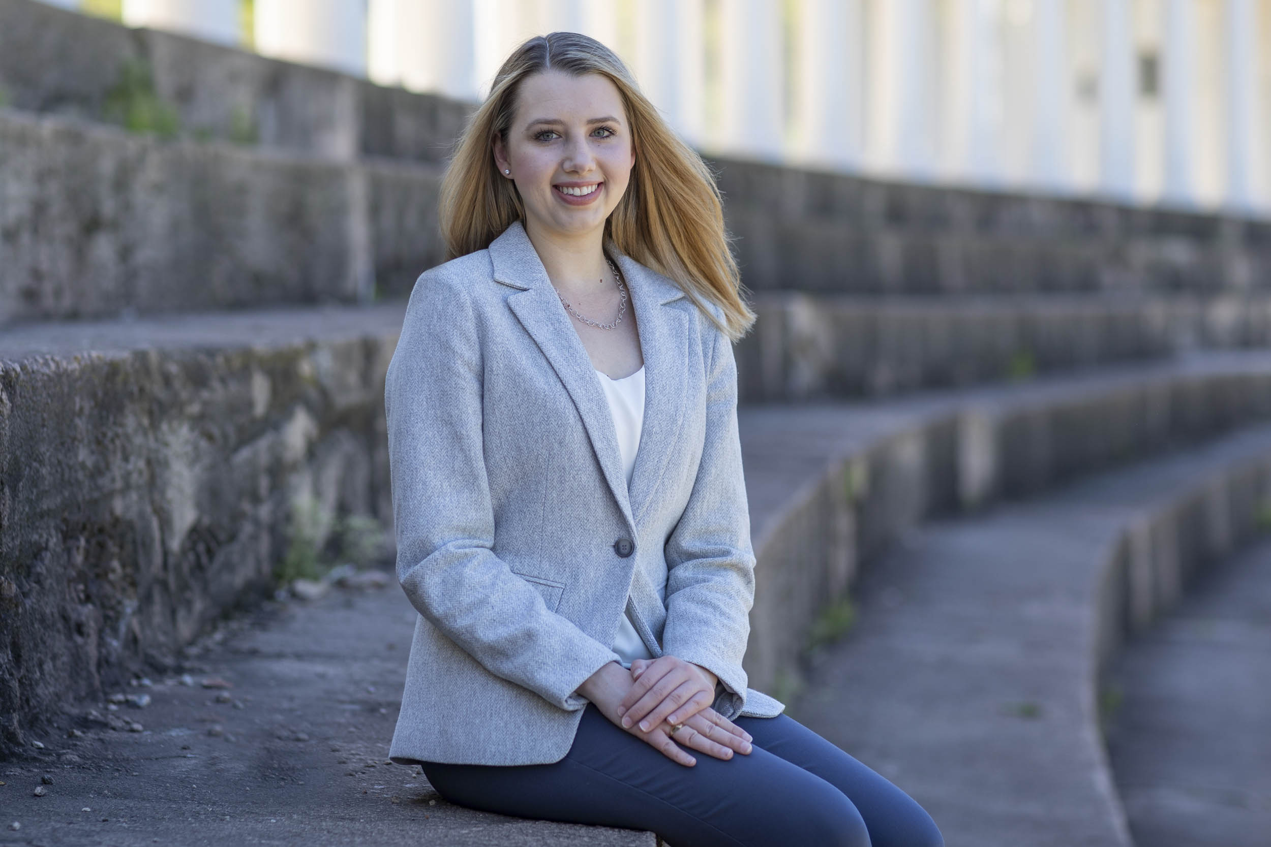 Having found the way to continue ballet, Alexander applied to and will earn her undergraduate degree from the Batten School of Leadership and Public Policy.