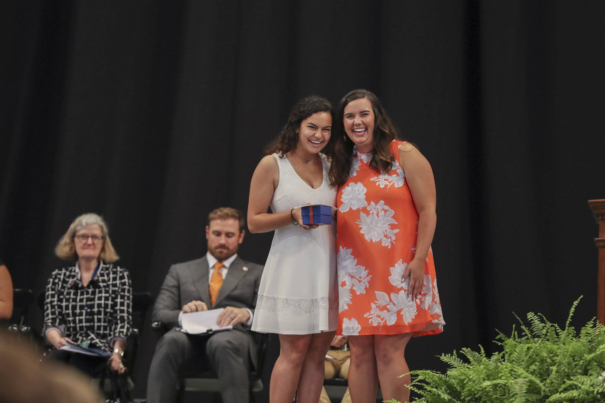 The Miss Kathy Award, given for kindness, positivity and good nature, went to Sarah Brotman, a public policy and leadership graduate.