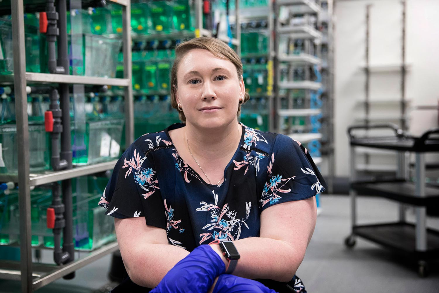 "Sarah Kucenas' research into a nerve cell called a ""glia"" has implications for the treatment of such diseases as muscular dystrophy, Charcot-Marie-Tooth disease, multiple sclerosis, autism and bipolar disorder."