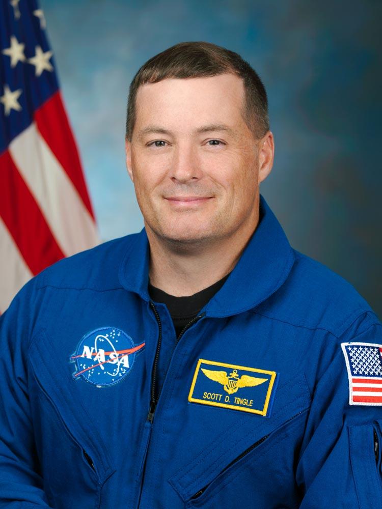 Portrait of NASA astronaut Scott Tingle