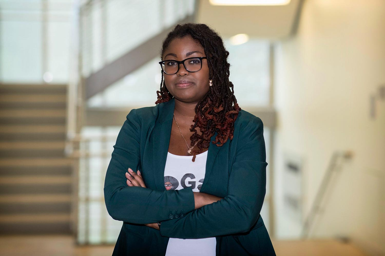 Shakira Hobbs has been fascinated with biofuel since she was an undergraduate.
