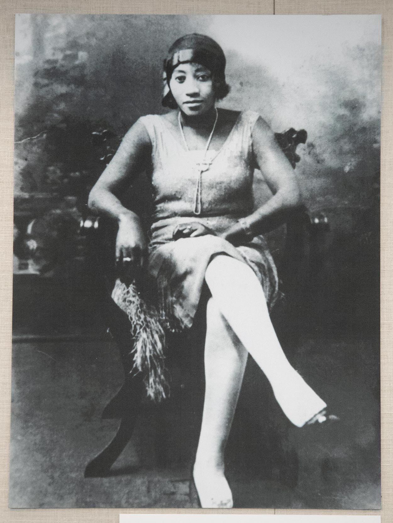 """Mary Ann Rush, depicted here, dressed like a quintessential """"flapper girl"""" of the 1920s, """"evidently knew a lot about fashion,"""" wrote reference librarian Regina Rush of her great-aunt."""