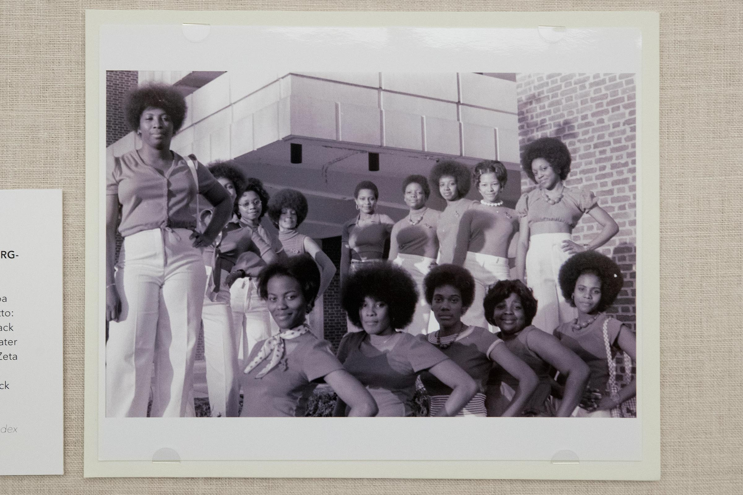 The first black sorority at UVA was the Kappa Rho chapter of Delta Sigma Theta, chartered in 1973.