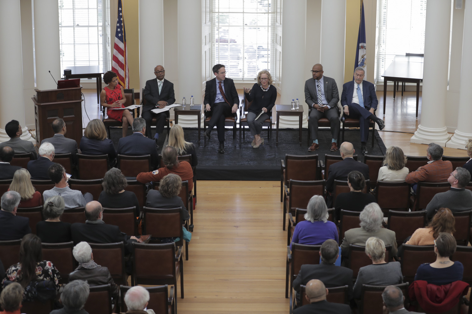 """""""Profiles in Discovery"""" kicked off a weekend of inauguration events for President Jim Ryan."""