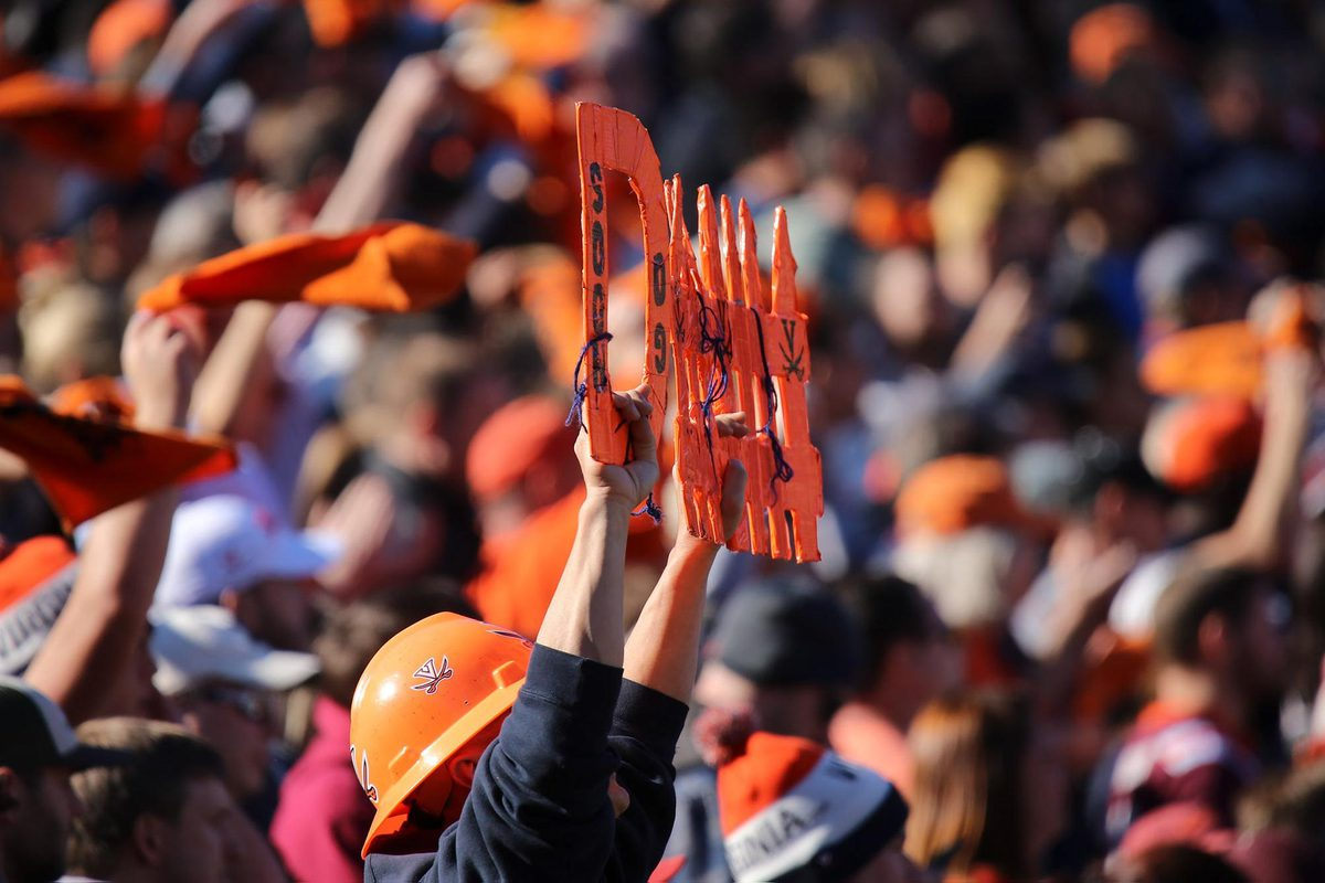 UVA fans are strongly encouraged to buy their tickets through Virginia Athletics. (Photo by Matt Riley, University Athletics)