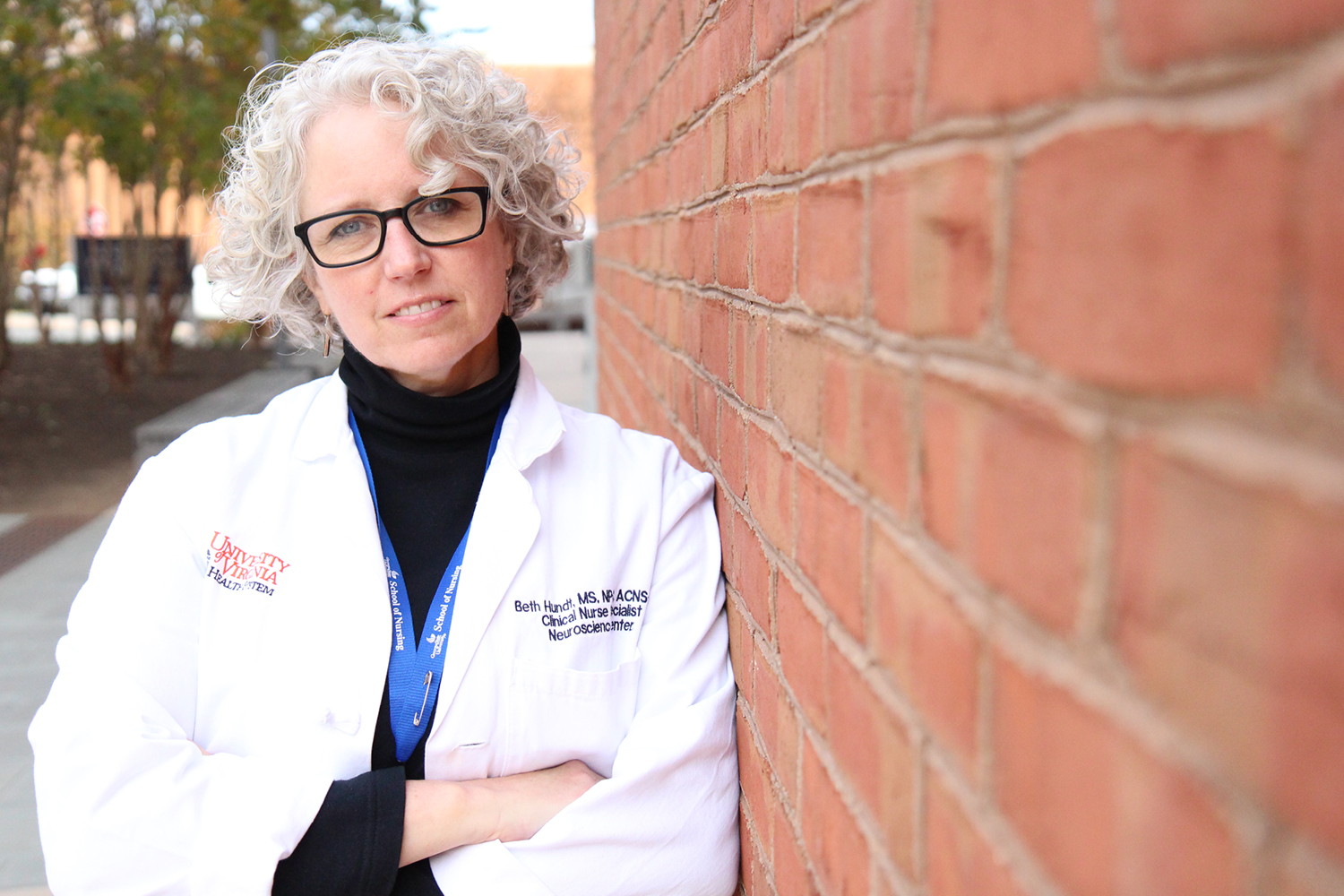 Beth Hundt, a critical care nurse and graduate nursing student, believes getting patients out of hospital environments relieves the stress of patients, family members and clinicians.