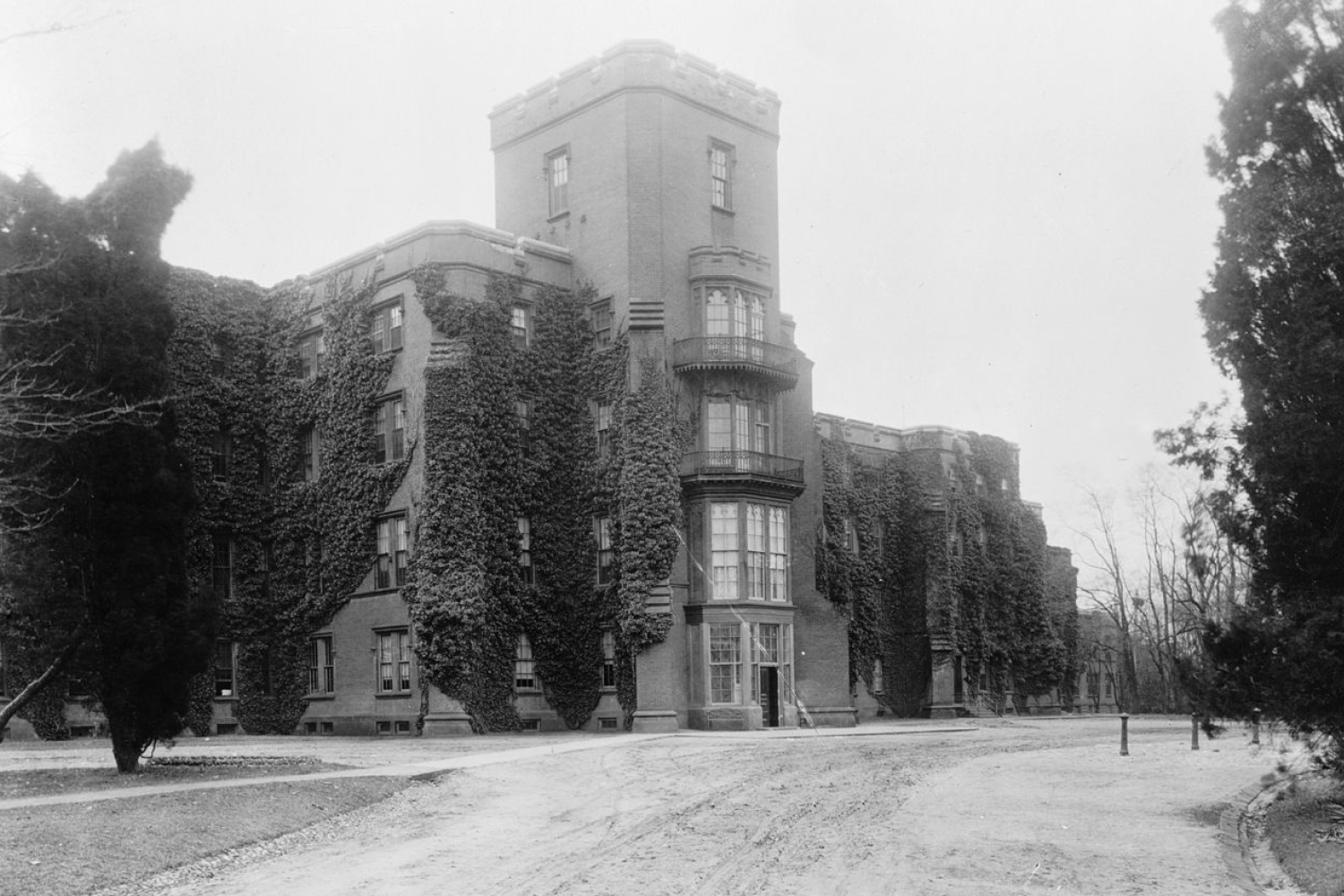 St. Elizabeths, opened in 1855, was designed to take full advantage of its natural surroundings.