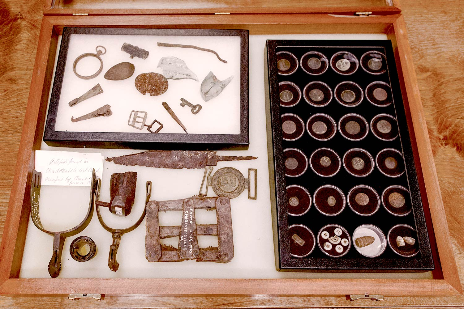 The full Shaw collection provides a window in everyday military life during the Civil War. (Photo by Sanjay Suchak/University Communications)
