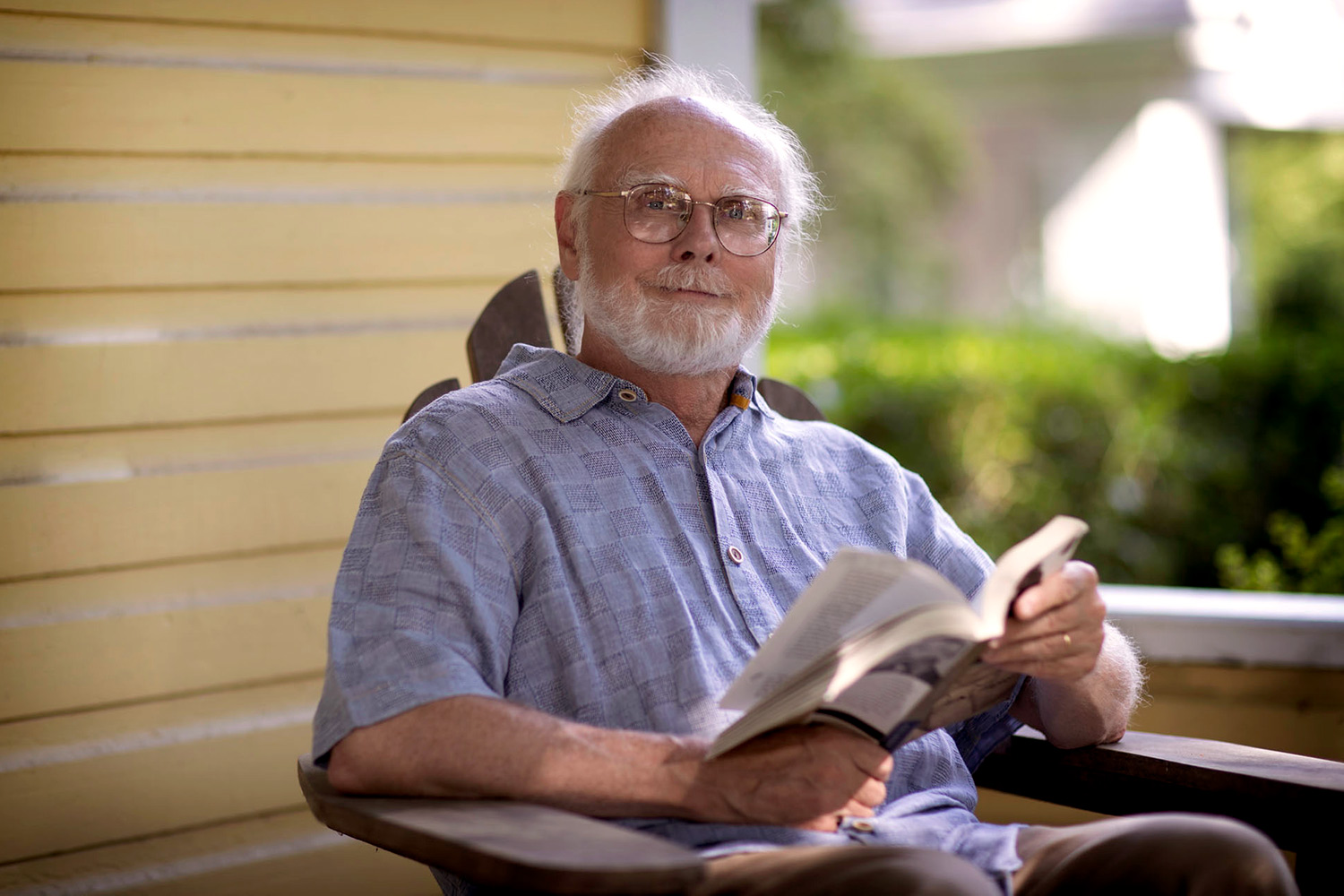 Steve Railton, on the English department faculty since 1973, specializes in American literature, including the work of William Faulkner.