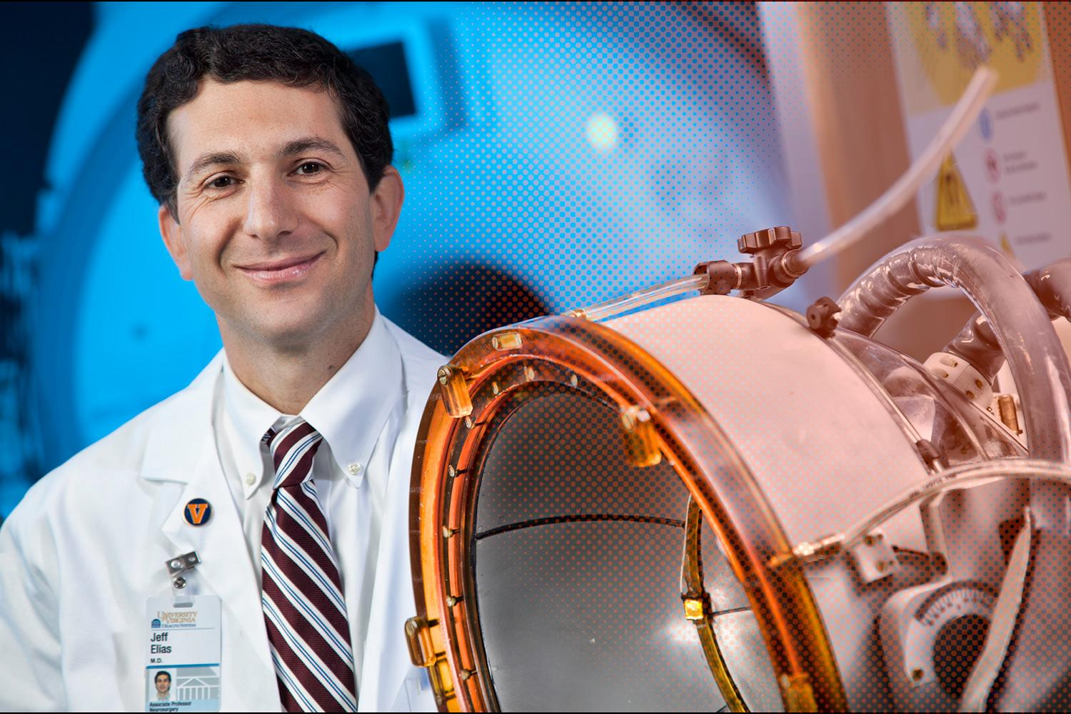Dr. Jeff Elias led the international clinical trials, which produced dramatic results.