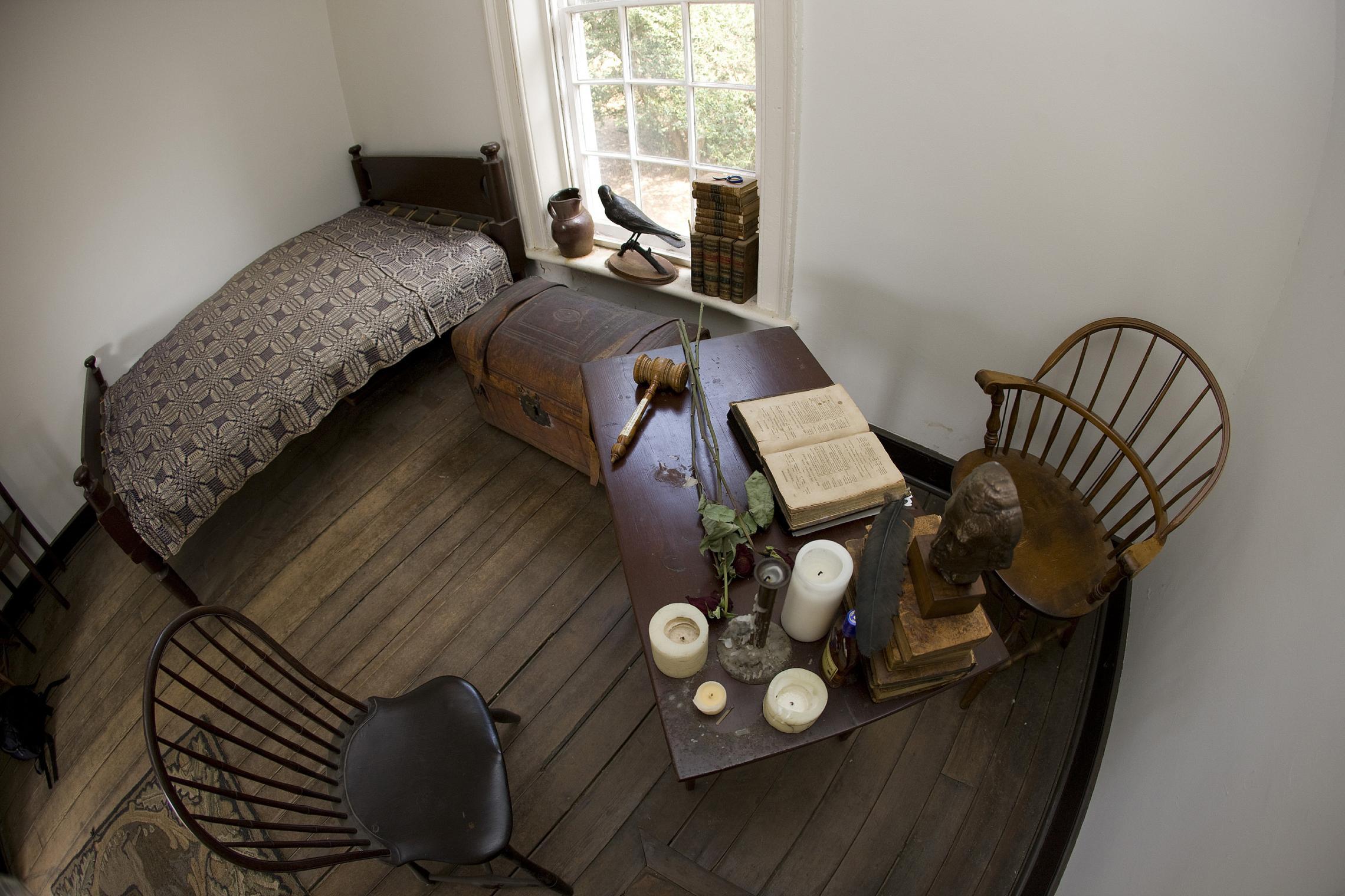 Edgar Allan Poe Uva Dorm Room