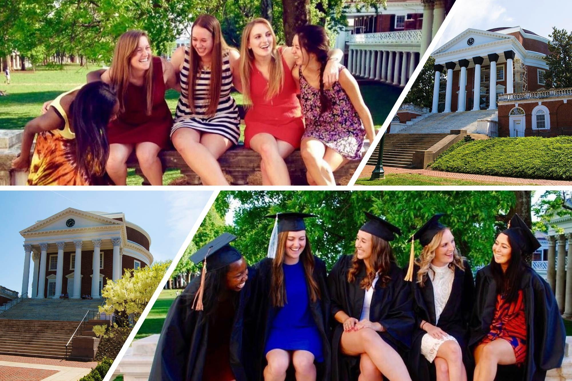 From Their First Day to Their Last: Graduates Share UVA Photos and Memories