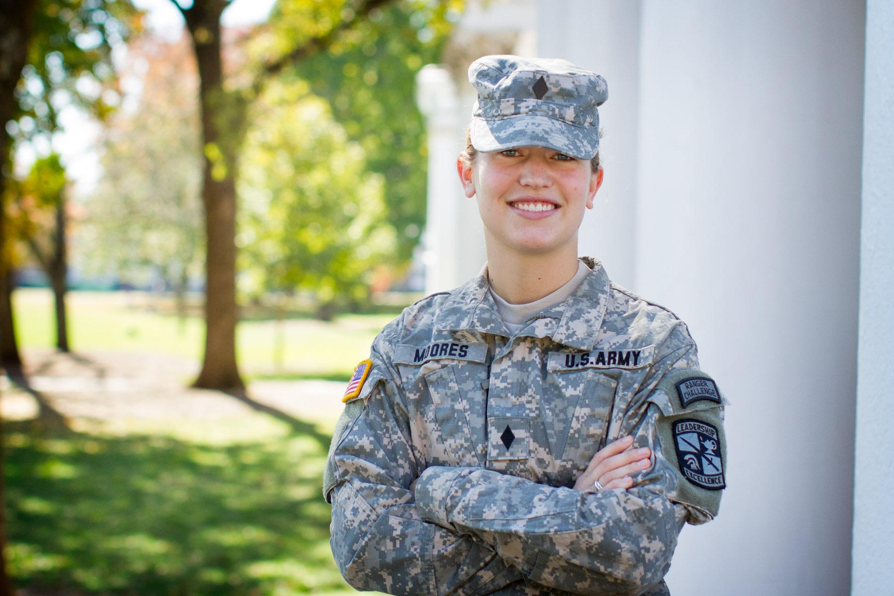 Two U Va  ROTC Cadets Among Army's Top 10 on National Order