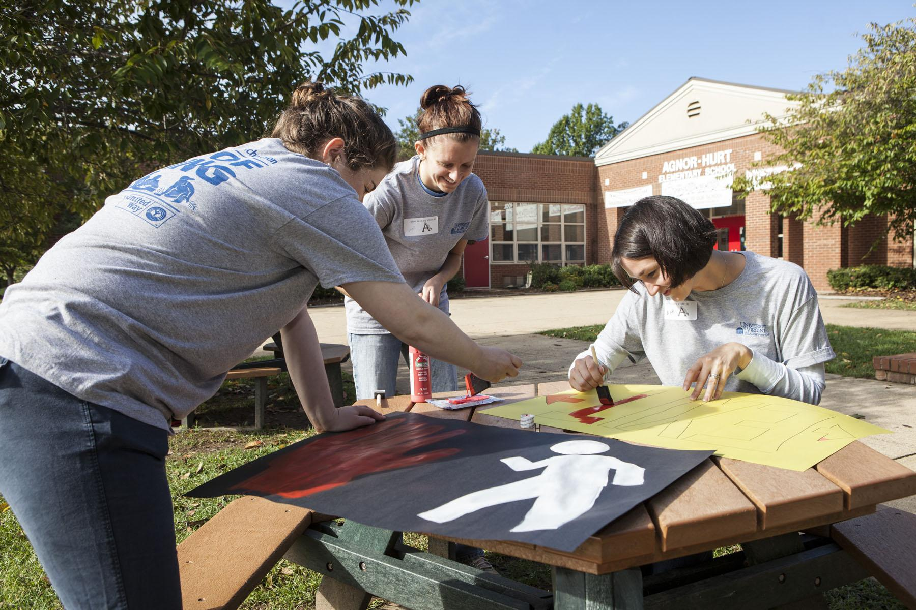 U.Va. Employees Donate Their Time and Talents for Day of Caring ...