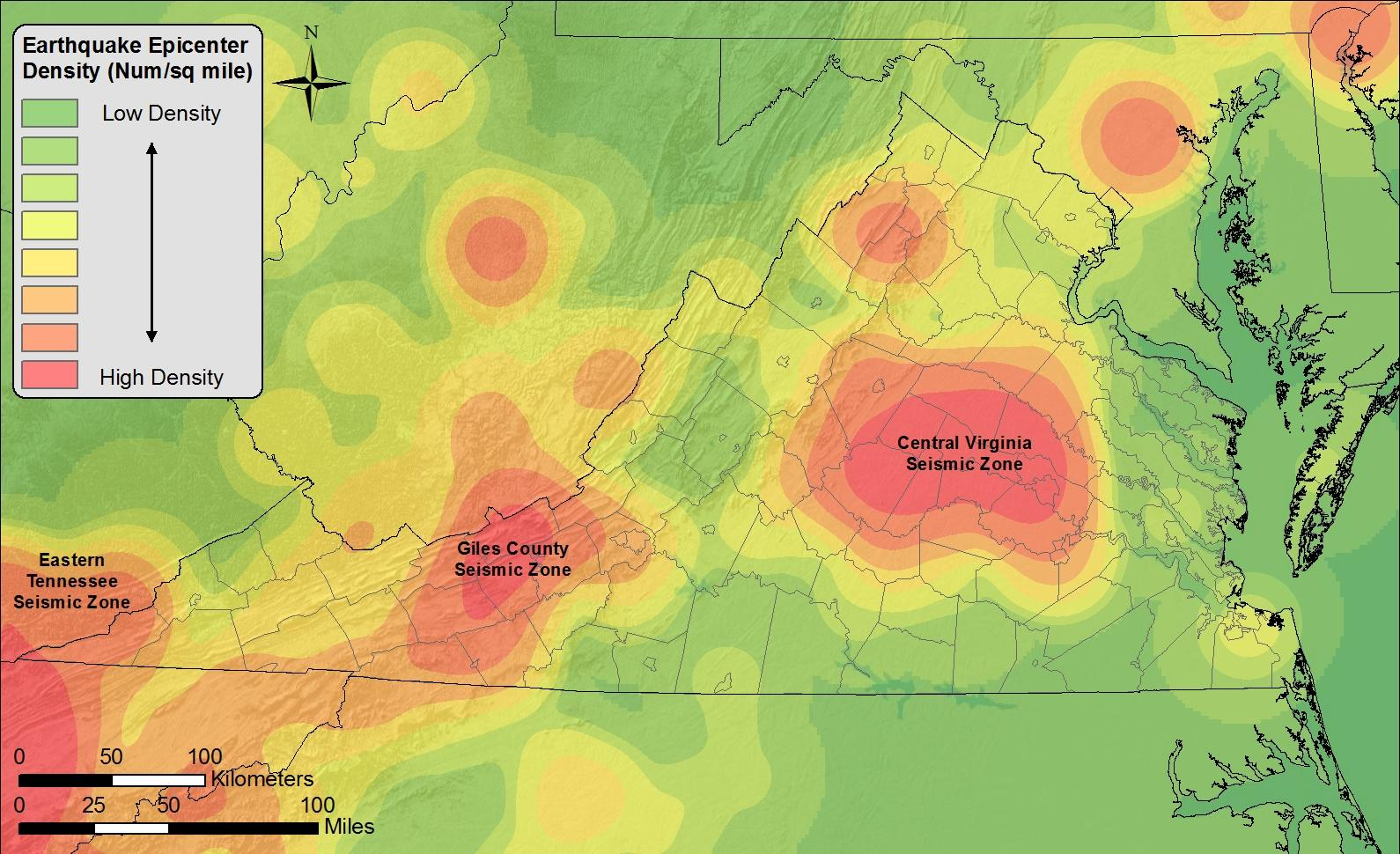 An earthquake history finding faults in virginia uva today virginias seismic zones are defined by areas of increased earthquake frequency the largest zone and site of the 2011 earthquake epicenter is in central gumiabroncs Gallery