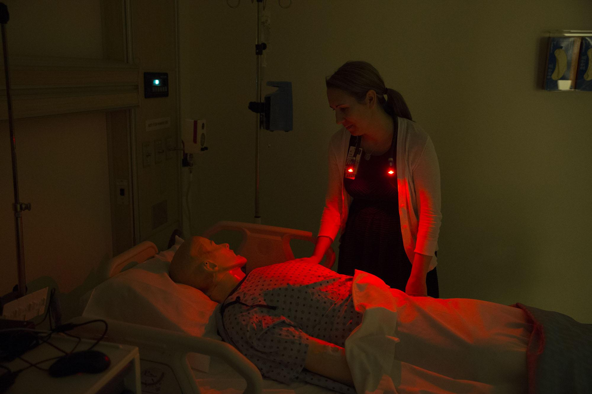 Lisa Letzkus A Doct Nursing Student At The University Of Virginia Thinks That Her Novel Red Light Intervention May Enable Patients To Get More