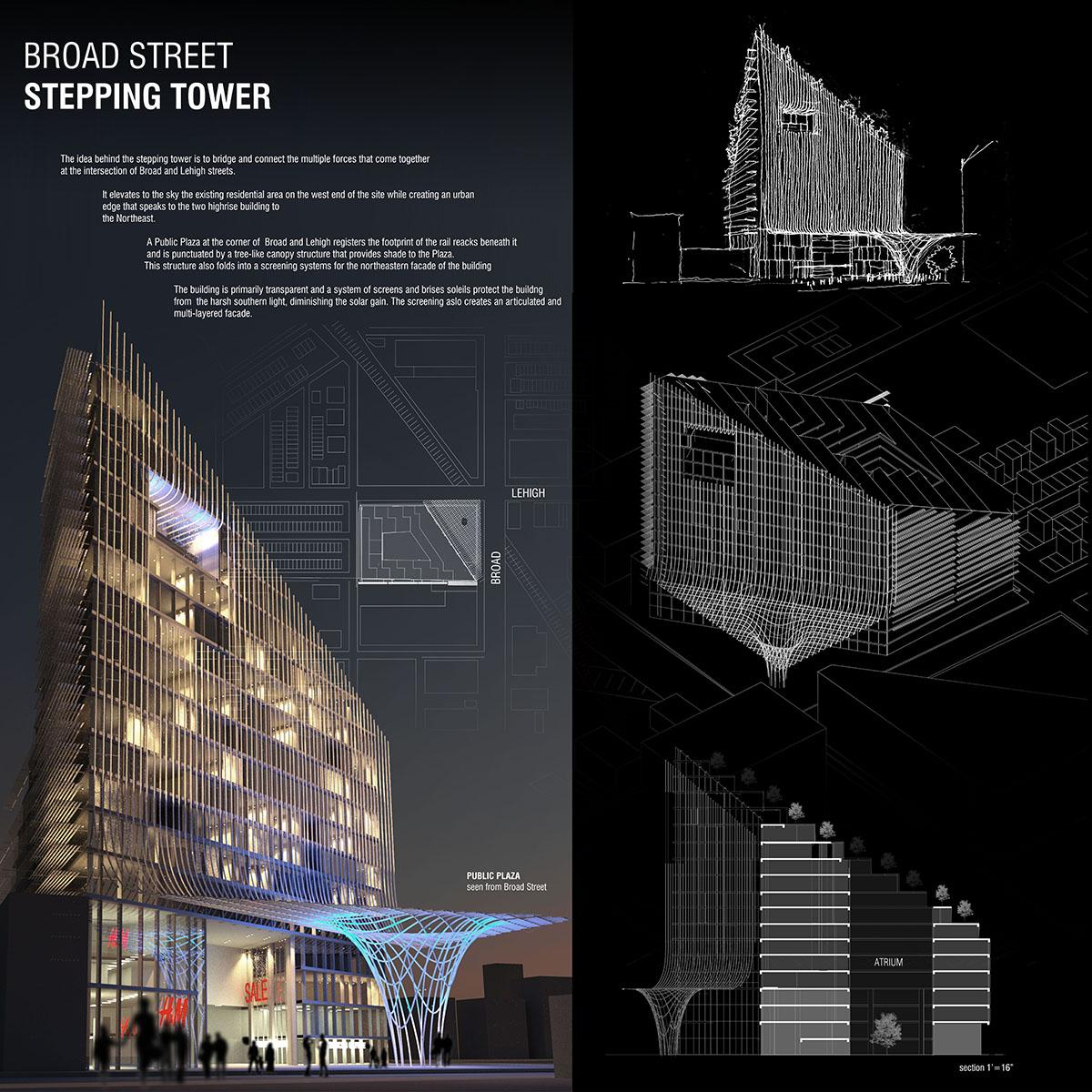U va architecture student wins sketch design competition for Architecture house design competitions