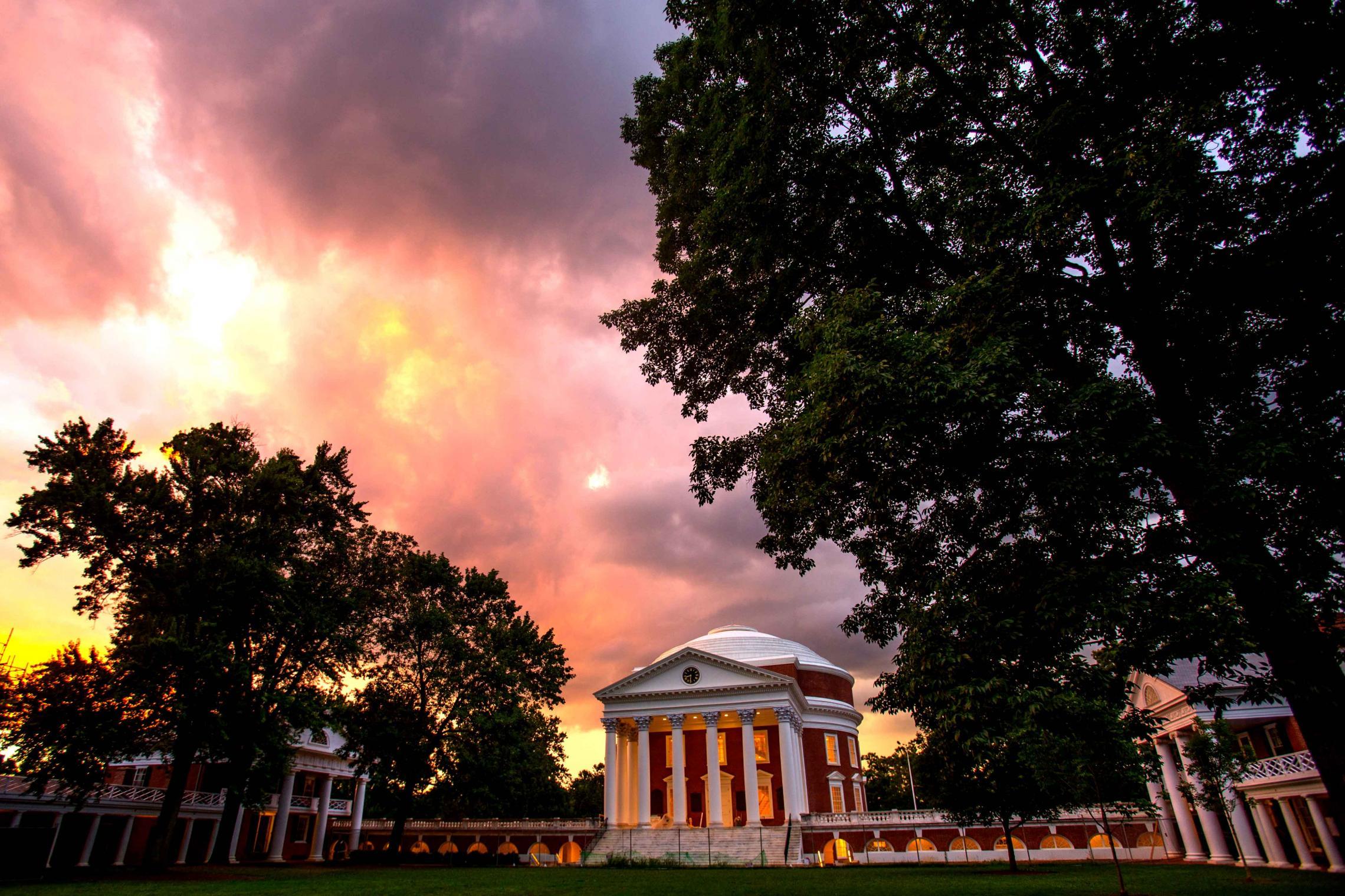 UVA's Rotunda (Photo by Sanjay Suchak, University Communications)