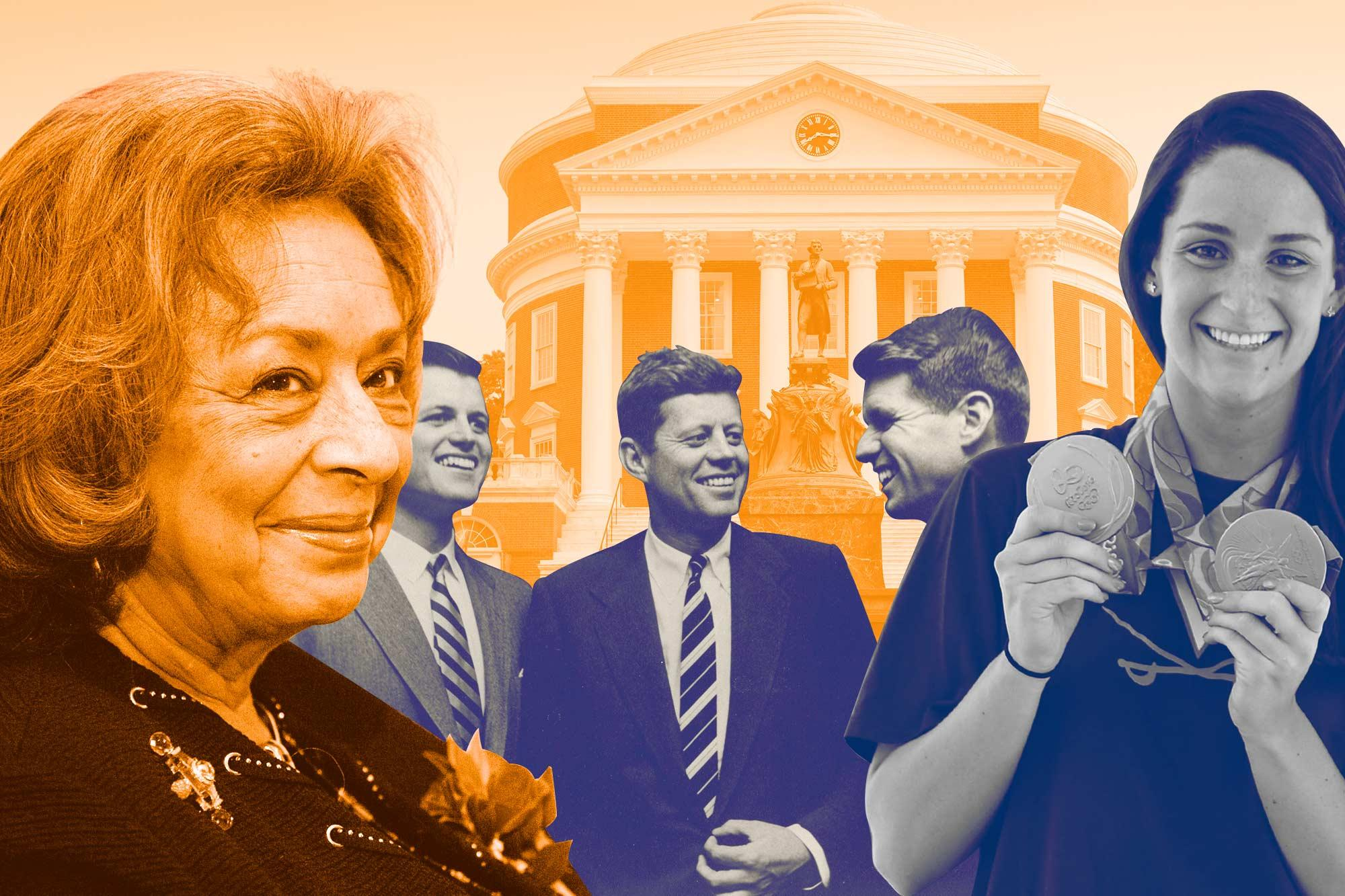 The newest UVA Today quiz asks readers to identify famous Wahoos.