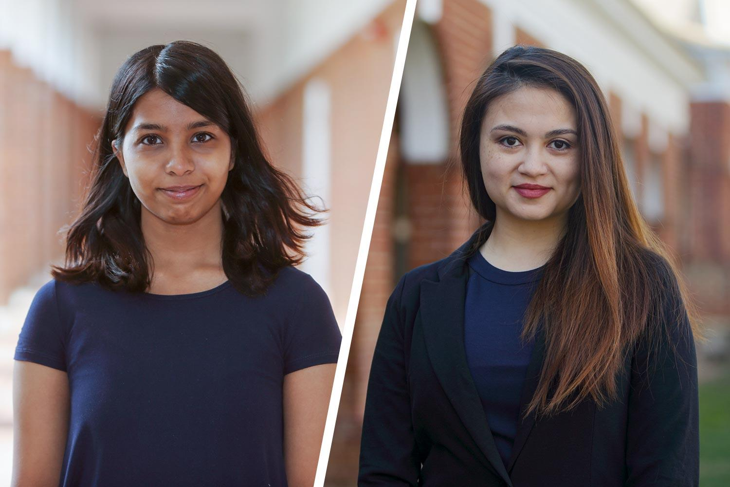 quality design bd5be 447e2 First-year student Navya Annapareddy will study maternal health in Rwanda.  Jordan Beeker, a second-year student, will look at the demographics of the  female ...