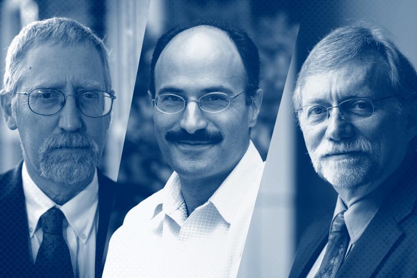 Alan Taylor, Pulitzer-Prize winning historian; Jahan Ramazani, Professor of English; John Monahan, psychologist and law professor