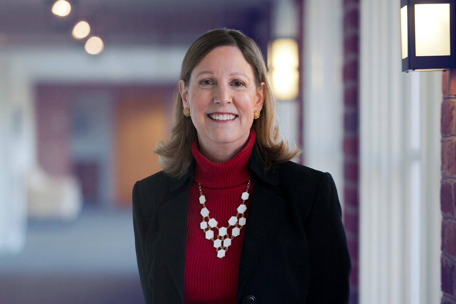 Barbara Perry is the director of presidential studies at UVA's Miller Center,  co-chair of the center's Presidential Oral History Program and a political scientist specializing in the presidency. (Photo by Amber Reichert)