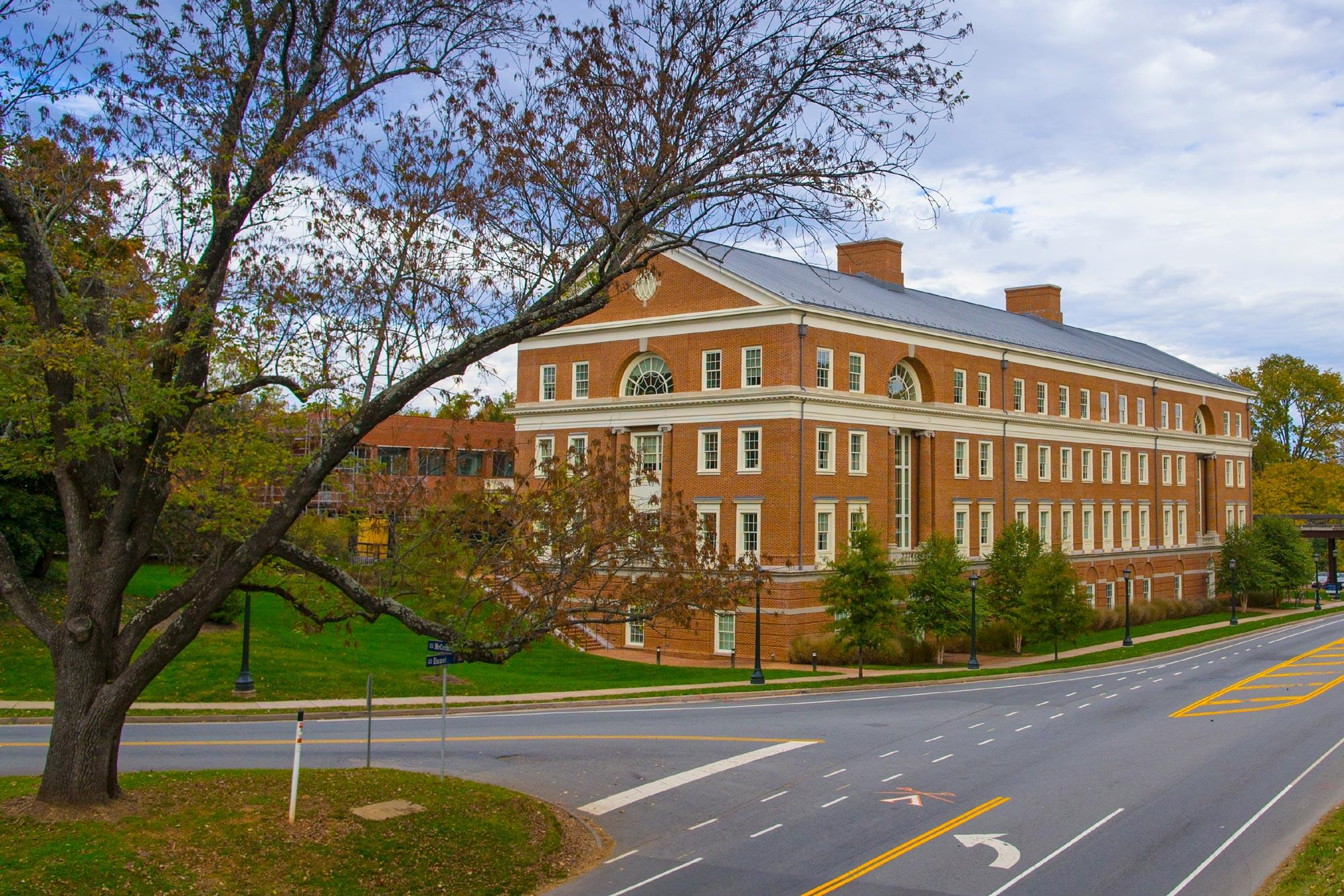 Bavarro Hall in Charlottesville houses the University of Virginia's Curry School of Education and Human Development